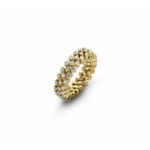 Serafino Consoli Flexibele ring Brevetto multi size 3rij