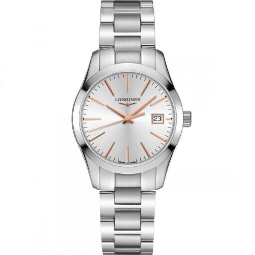 Longines Horloge Conquest Classic 34mm L2.386.4.72.6