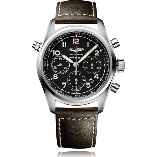 Longines Horloge Spirit 42mm Chronograph L3.820.4.53.0