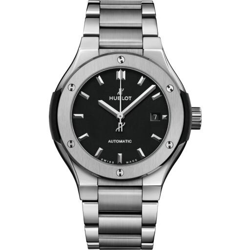 Hublot Horloge Classic Fusion 33mm Titanium Bracelet 585.NX.1170.NX