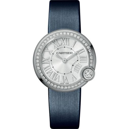 Cartier Horloge Ballon Blanc W4BL0003