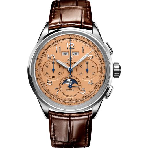Breitling Horloge Premier B25 42mm Datora AB2510201K1P1
