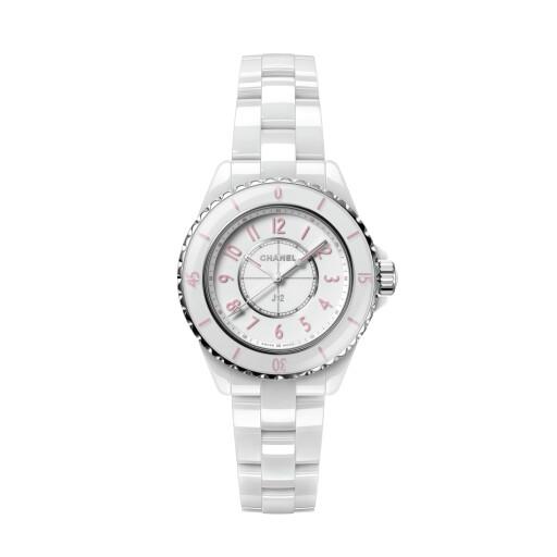 CHANEL Horloge J12 Pink 33mm H6755