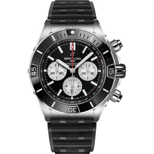Breitling Horloge Super Chronomat B01 44mm Black Ring AB0136251B1S1