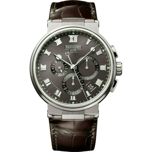 Breguet Horloge Marine 42mm Chronograph 5527TI/G2/9WV