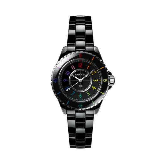 CHANEL Horloge J12 Black Electro 33mm H7121