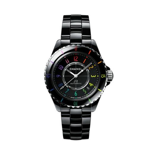 CHANEL Horloge J12 Black Electro 38mm H7122
