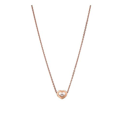 Chopard Collier met hanger Happy Diamonds Icons Heart
