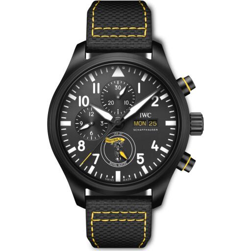 IWC Horloge Pilot Watch 45mm Chronograph Edition Royal Maces IW389107