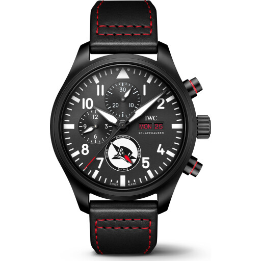 IWC Horloge Pilot Watch 45mm Chronograph Edition Top Hatters IW389108